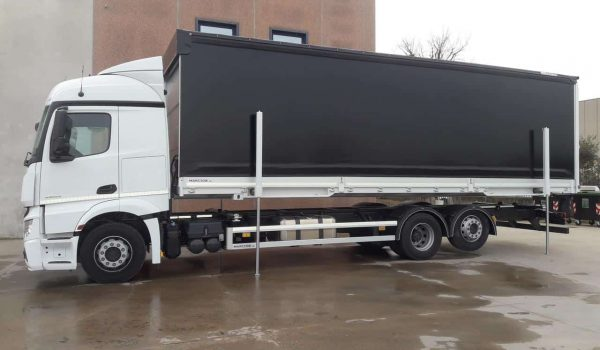 Special industrial vehicles - special equipment for industrial vehicles and trucks